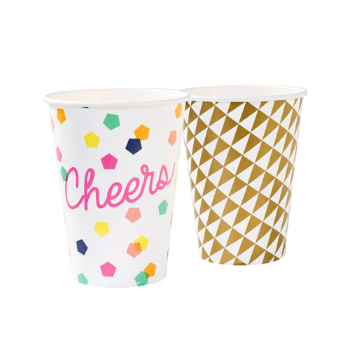[Talking tables] Color Flake Big Cup(12pcs)