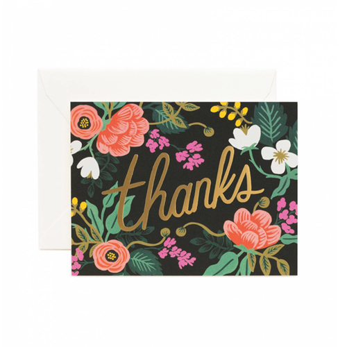 [Rifle Paper Co.] Birch Floral Card