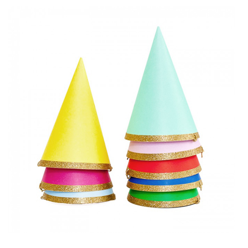 [MeriMeri]Happy Birthday Party Hats(8pcs)