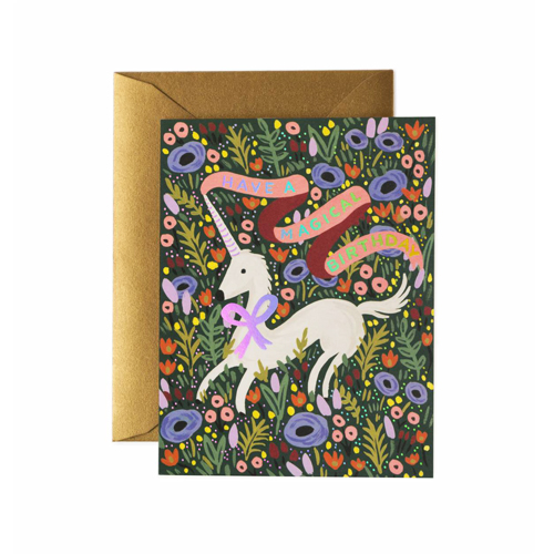 [Rifle Paper Co.] Magical Birthday Card