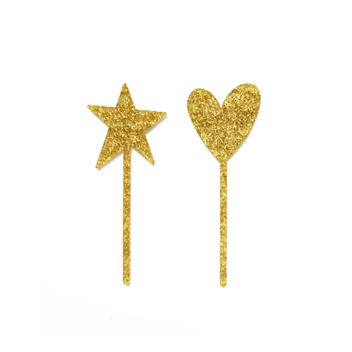 파티토퍼_Glitter gold_Symbol(heart, star)
