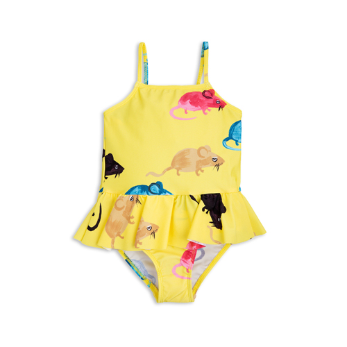 [mini rodini 17ss] MR MOUSE SKIRT SWIMSUIT