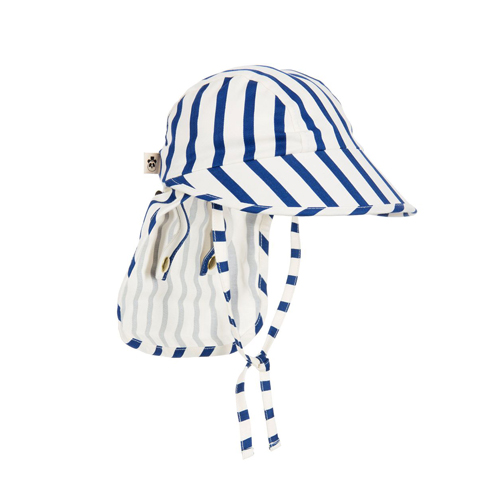 [mini rodini 17ss] stripe sun cap blue