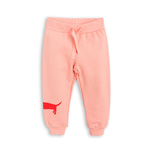 [mini rodini 17fw] Dog Sweatpants_pink