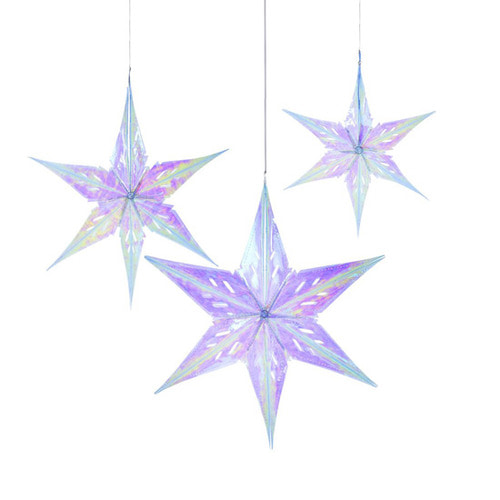 [Talking Tables] Iridescent Star  (3pcs)