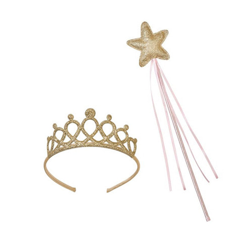 [Talking Table] We Heart Pink Tiara&wand set