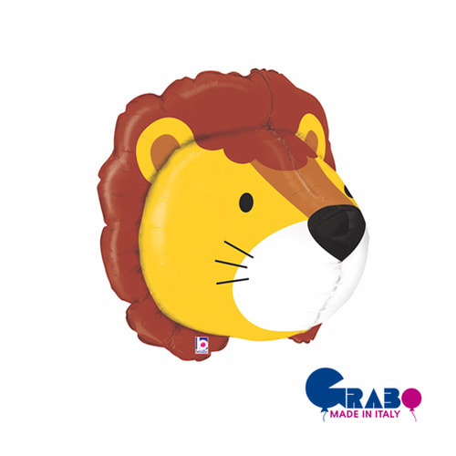 "[Grabo balloons] 3D Animal_lion 30""(55x55cm)"