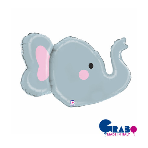 "[Grabo balloons] 3D Animal_elephant 34"" / 86cm"