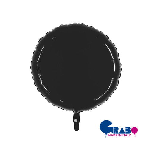 [Grabo balloons] Shiny Balloon_Black 21""