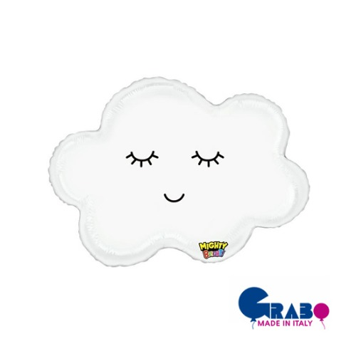 "[헬륨벌룬] Sleepy Cloud 30""(45x62cm)"