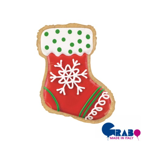 "[Grabo balloons] Stocking Cookie 27""(66cm)"