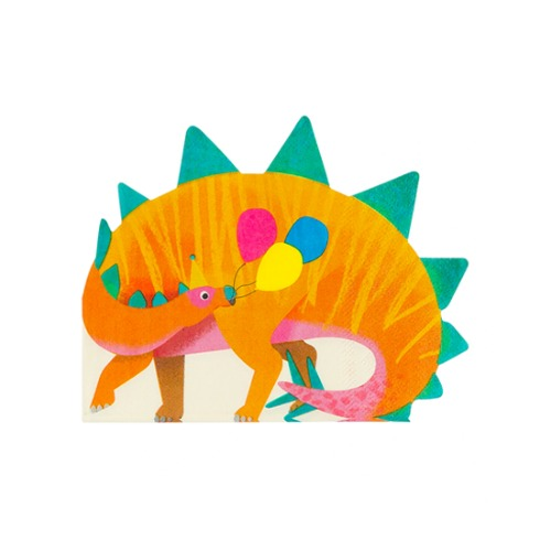 [Talking Tables] Dino shaped party Napkins(16pcs)