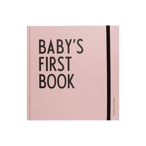 [Design Letters] Baby's First Book_Pink