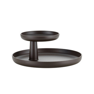 [VITRA] Rotary Tray Teak Brown