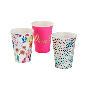 [Talking table] Tropical Floral Big Cups(12pcs)
