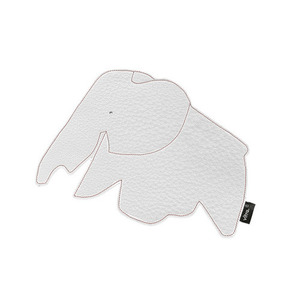 [VITRA] Elephant Mouse Pad_snow white