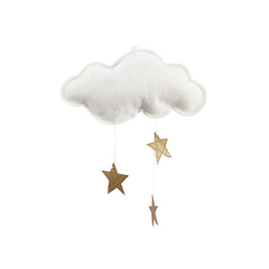 [Baby Jives] Cloud Mobile_mini(white+gold)