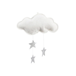 [Baby Jives] Cloud Mobile_mini(white+silver)