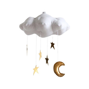 [Baby Jives] Cloud Mobile_standard(white+gold)