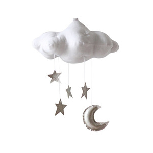[Baby Jives] Cloud Mobile_standard(white+silver)