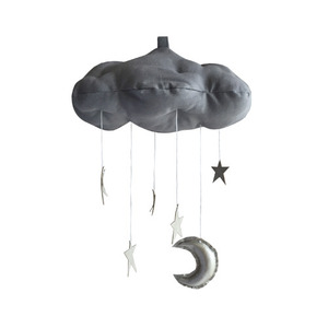 [Baby Jives] Cloud Mobile_standard(grey+silver)
