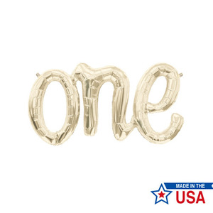[Northstar balloons] Script balloons_One(white gold)
