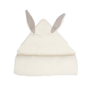 [oeuf 17ss] Bunny blanket_white