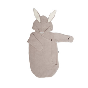[oeuf 17ss] Bunny wrap_light grey