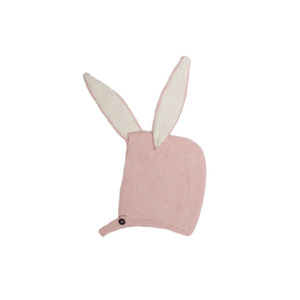 [oeuf 17ss] Bunny hat_light pink