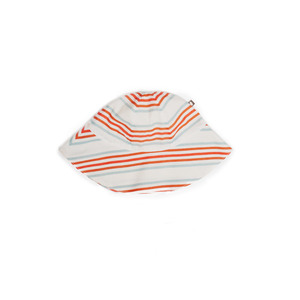 [oeuf 17ss] Kid hat_multi stripe