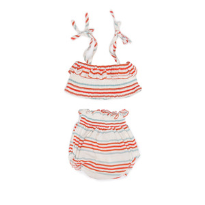[oeuf 17ss] Bikini_multi stripes