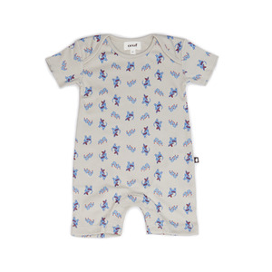 [oeuf layette 17ss] short romper_chihuahuas