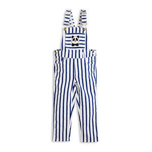 [mini rodini 17ss] stripe dungarees blue