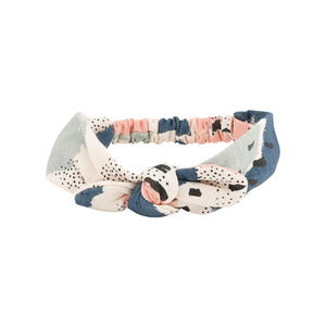 [soft gallery 17ss] Bow Hairband_Cream Melange