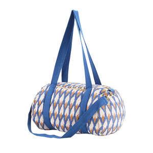 [soft gallery 17ss] Quilted Bag_Ikat Blue