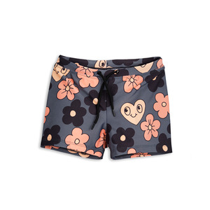 [mini rodini 17ss] flower swimpants_grey
