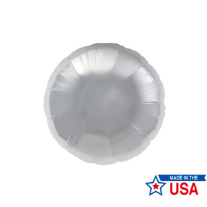 [Northstar balloons] Round_silver