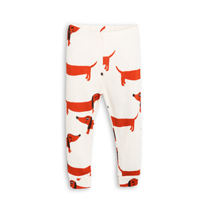 [mini rodini 17ss] Dog Leggings_off white