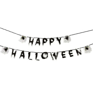 [Talking Tables] Skeleton Crew Happy Halloween Garland(3m)
