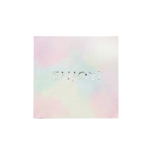 [Talking Table] We Heart Pastel Napkins (16pcs)