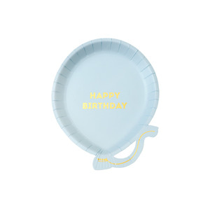 [Talking Tables] We♥Birthday Plates_Blue (12pcs)