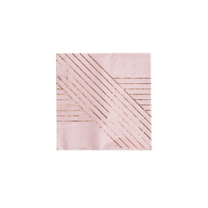 [Harlow&Grey] Light Purple&Pink Napkins(8pcs)