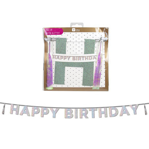 [Talking Tables] HBD tassel garlands_Iridescent