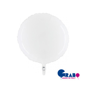 [Grabo balloon] Shiny Balloon_White