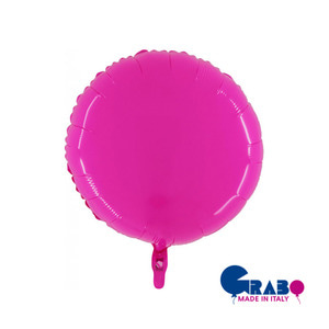 "[Grabo balloon] Shiny Balloon_hot pink 21"" / 53cm"