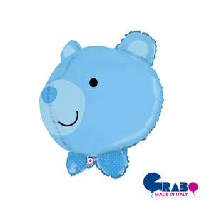 [Grabo balloon] 3D Bear Balloon_blue
