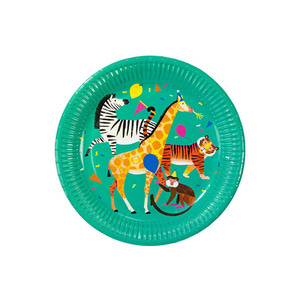 [Talking Tables] Animal Party Plates(8pcs)