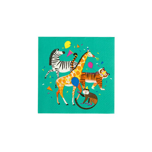 [Talking Tables] Animal Party Napkins(20pcs)