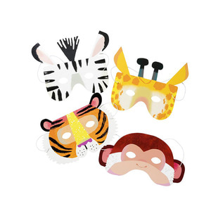 [Talking Tables] Animal Party Masks(8pcs)