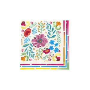 [Talking Tables] Boho Floral Napkins(20pcs)